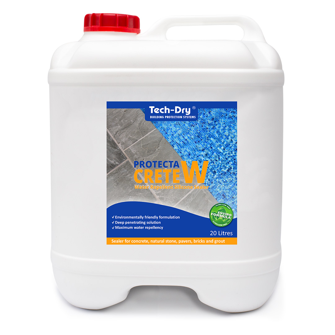 20 litre protecta crete water repellent silicone sealer water based