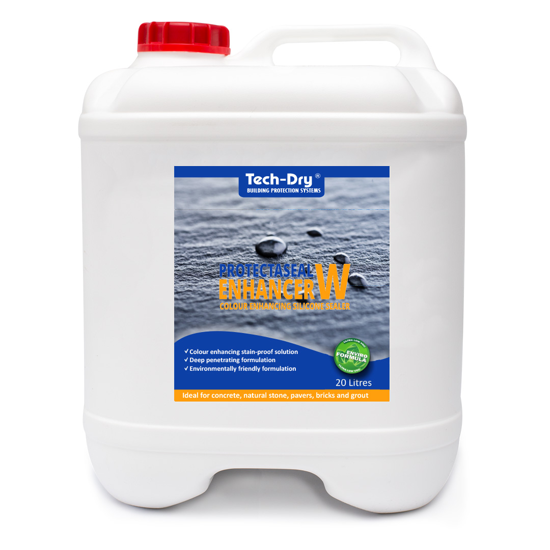 20 litre protectaseal colour enhancing silicone sealer water based