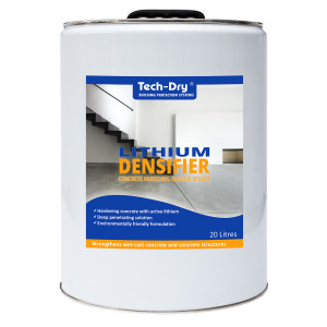 20 litre concrete hardening silicone sealer lithium densifier