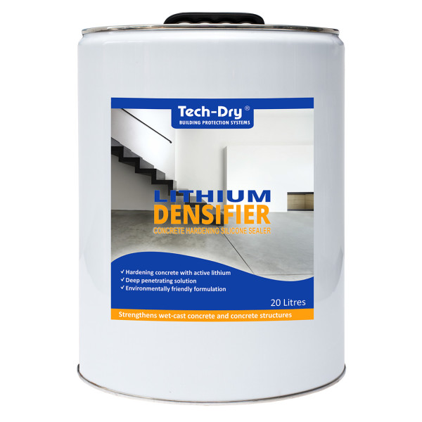 Lithium Densifier | Hardener & Polishing Aid For Concrete
