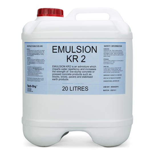 20 litre emulsion kr2 water repellent admixture for concrete