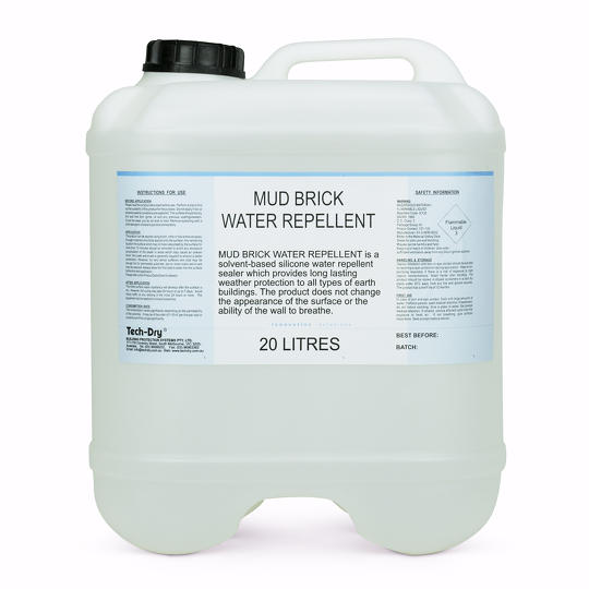 20 litre mud brick water repellent