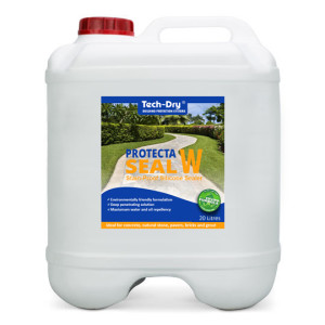 20 litre protecta seal stain proof silicone sealer water based
