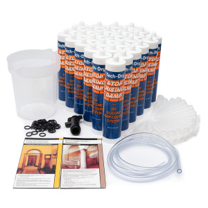 tech dry stop rising damp silicone damp course system kit