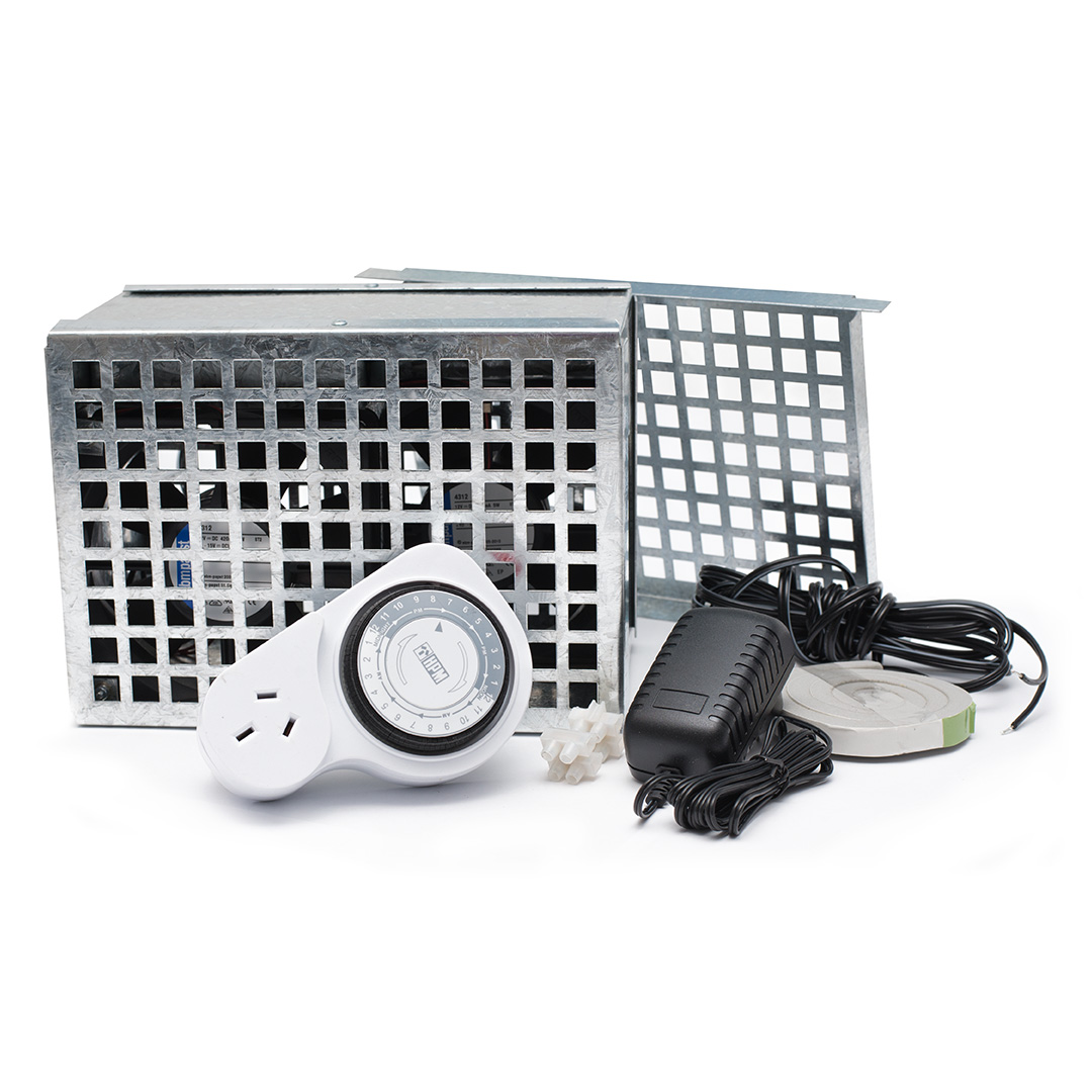 mini vent wall fan kit